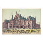 Cincinnati Music Hall 1879 Poster