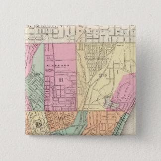 Cincinnati, Ohia 15 Cm Square Badge