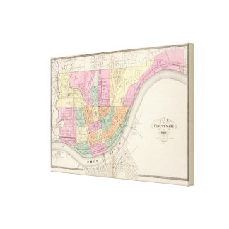 Cincinnati, Ohia Canvas Print