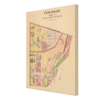 Cincinnati, Ohio 5 Canvas Print