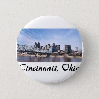 Cincinnati Ohio 6 Cm Round Badge
