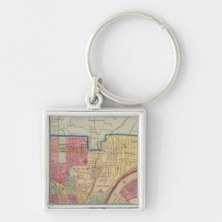 Cincinnati, Ohio and vicinity Key Ring