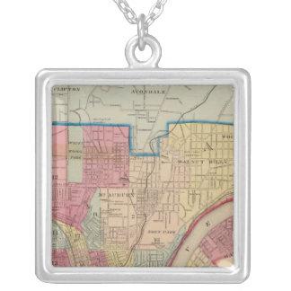 Cincinnati, Ohio and vicinity Silver Plated Necklace