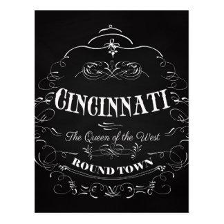 Cincinnati Ohio Art - The Queen of the West Postcard