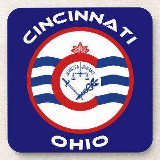 Cincinnati Ohio Beverage Coaster