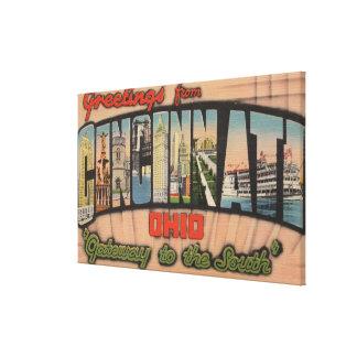 Cincinnati, Ohio (Gateway to the South) Canvas Print