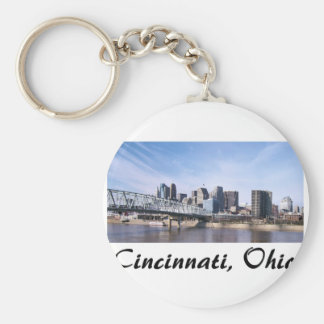 Cincinnati Ohio Key Ring