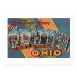 Cincinnati, Ohio - Large Letter Scenes 2 Postcard