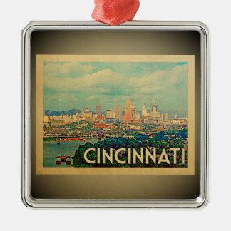 Cincinnati Ohio Ornament Vintage Travel