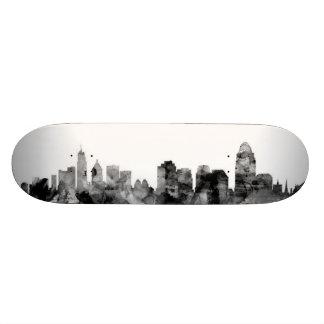 Cincinnati Ohio Skyline 18.1 Cm Old School Skateboard Deck