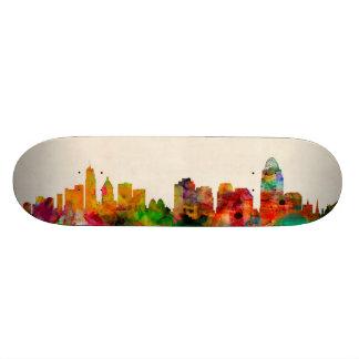 Cincinnati Ohio Skyline Cityscape Skate Deck