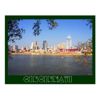 Cincinnati, Ohio, the Queen City Postcard