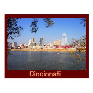 Cincinnati, Ohio, the Queen City Post Card