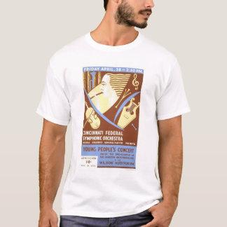 Cincinnati Orchestra 1939 WPA T-Shirt