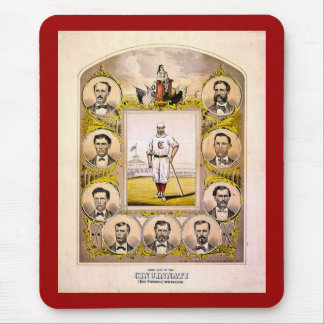 Cincinnati Red Stockings of 1869 Mouse Mat