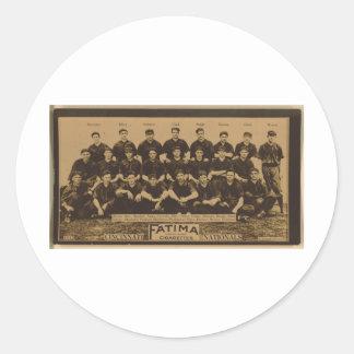 Cincinnati Reds 1913 Round Sticker