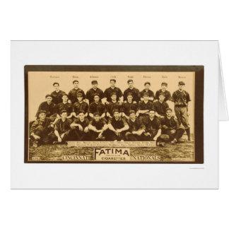 Cincinnati Reds Baseball 1913 Card