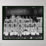 Cincinnati Reds Baseball Team 1910 Posters