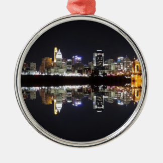 Cincinnati Reflection Christmas Ornament