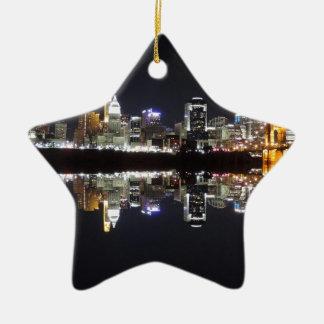 Cincinnati Reflection Christmas Ornament