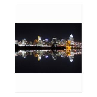 Cincinnati Reflection Postcard