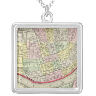 Cincinnati Silver Plated Necklace