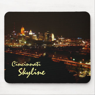 Cincinnati Skyline Mouse Mat