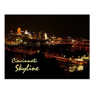 Cincinnati Skyline Postcard