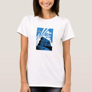 Cincinnati Speeds Up For Defense -- WW2 T-Shirt