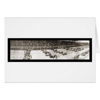 Cincinnati Speedway Photo 1916 Card