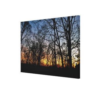 Cincinnati Sunset I Canvas Print