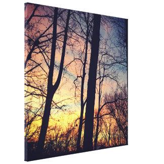 Cincinnati Sunset II Canvas Print
