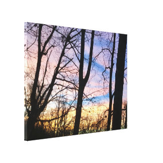 Cincinnati Sunset III Canvas Print