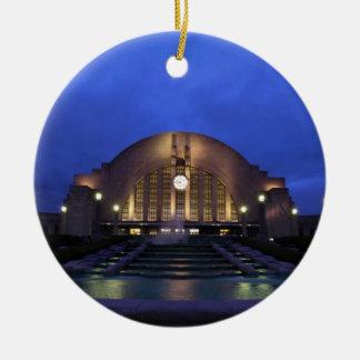 Cincinnati Union Terminal Christmas Ornament