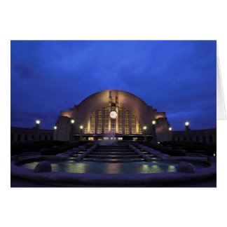 Cincinnati Union Terminal/Museum Center Greeting Card