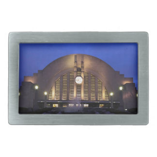 Cincinnati Union Terminal/Museum Center Rectangular Belt Buckles