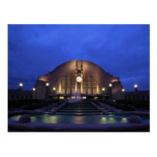 Cincinnati Union Terminal Postcard
