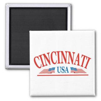 Cincinnati USA Square Magnet