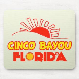 Cinco Bayou, Florida Mousepad