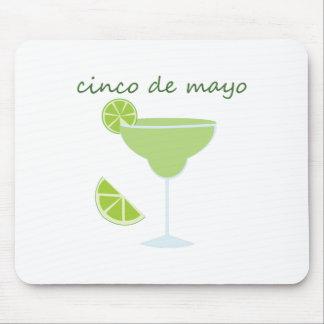 Cinco de Maya Margarita Mouse Pad