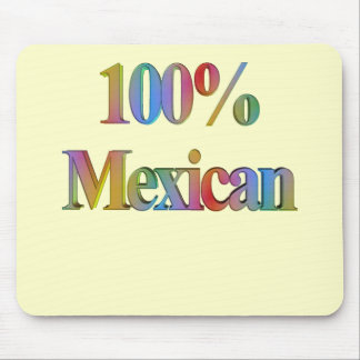 Cinco de Mayo 100% Mexican T-shirts and Gifts Mouse Pad