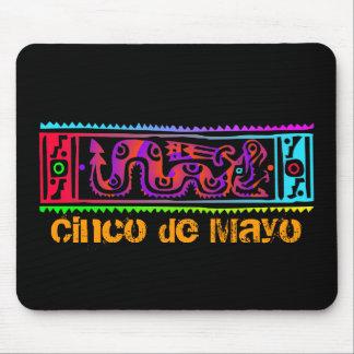 Cinco de Mayo Aztec Snake Mouse Pad