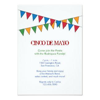 Cinco de Mayo Banner Invitation