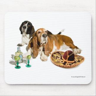 Cinco De Mayo Basset Hound Mousepad