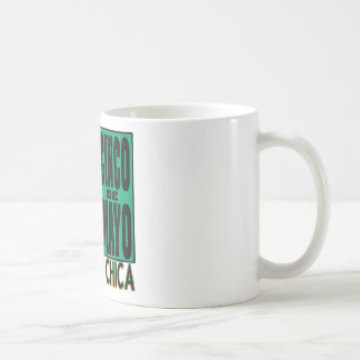 Cinco de Mayo Birthday Chica Basic White Mug