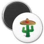 Cinco de Mayo cactus Magnet