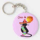 Cinco de mayo CAT Design--Adorable Keychains