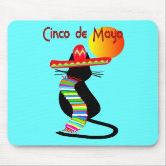 Cinco de mayo CAT Design--Adorable Mouse Pad