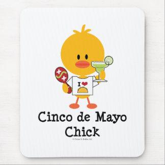 Cinco de Mayo Chick Mousepad
