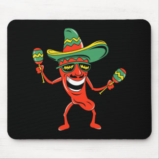 Cinco de Mayo Chili Pepper T-shirts and Gifts Mouse Pad